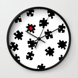 DT PUZZLE ART 1 Wall Clock