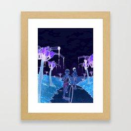 Slash and Burn Framed Art Print