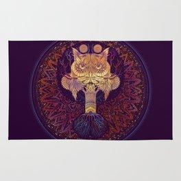 Owl Mandala Rug