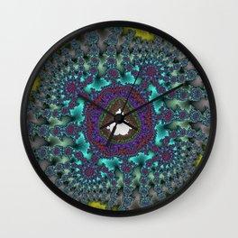 Fractal Abstract 78 Wall Clock