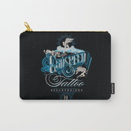 Godspeed Tattoo, Breckenridge, Colorado 2 Carry-All Pouch