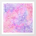 Pink Purple Paisley Love by girlytrend