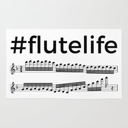#flutelife Rug