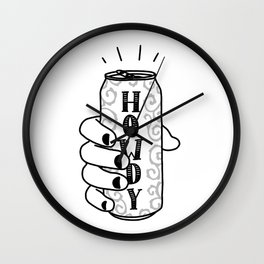 Southern Sip Wall Clock