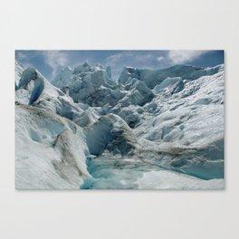 Glaciar Petiro Moreno Canvas Print