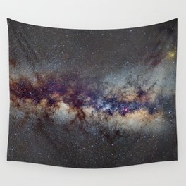 The Milky Way: from Scorpio and Antares to Perseus Wall Tapestry