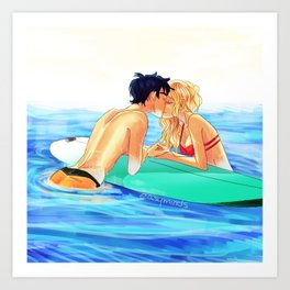Percabeth Art Prints | Society6