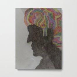 Rainbow Man Metal Print