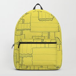 Fry Pattern - maize Backpack