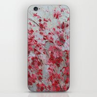 sakura iPhone & iPod Skins featuring Sakura by Ann Marie Coolick