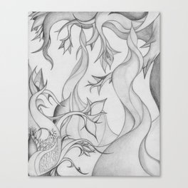 The Serpentine Forest Canvas Print