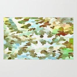 Dusty Miller Abstract Pop Art Rug
