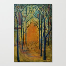 Light in the Wilderness  Canvas Print