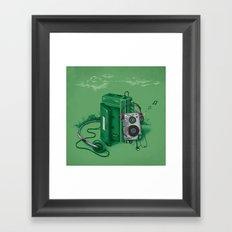 Music Break Framed Art Print