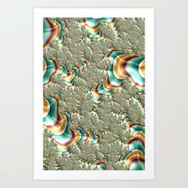 Colorful Fractal Art Print