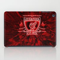 liverpool iPad Cases featuring LIVERPOOL LOVER by Acus