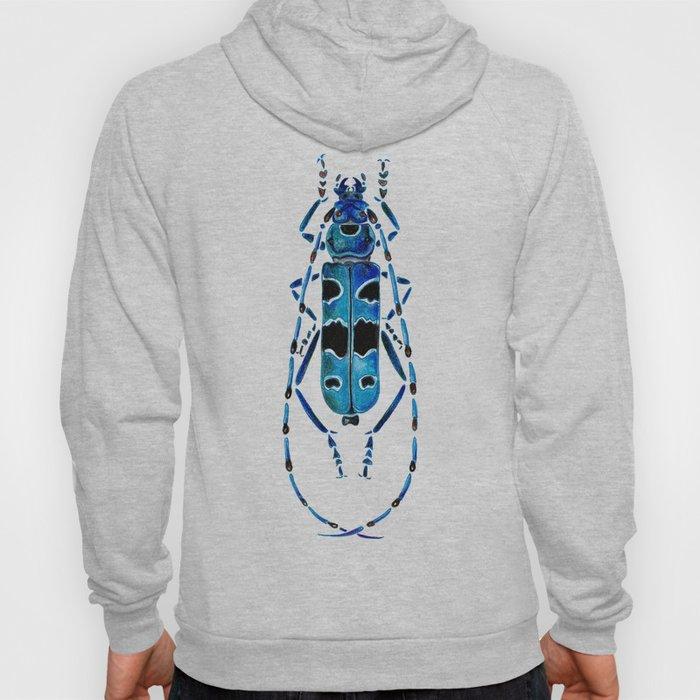 Beetle 09 blue Hoody