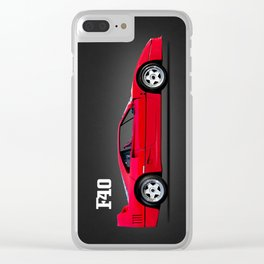 The F40 Clear iPhone Case