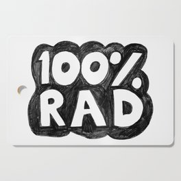 100 % RAD - Bubble Cutting Board