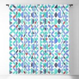 LITE GARDEN SALAD, hand-painted pattern by Frank-Joseph Blackout Curtain