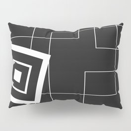 """""""From Big to Small"""" abstract composition (inversion) Pillow Sham"""