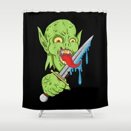 The Fiend Shower Curtain
