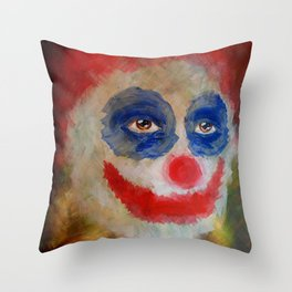 The Disillusionment of Sparkles Throw Pillow