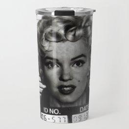Monroe Mugshot Travel Mug