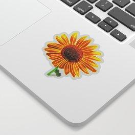Sunflower Labyrinth (Eco Art) Sticker