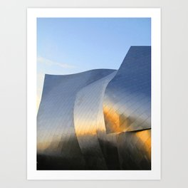 Gehry's Fisher Center Art Print