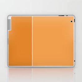 Orange Lines Laptop & iPad Skin