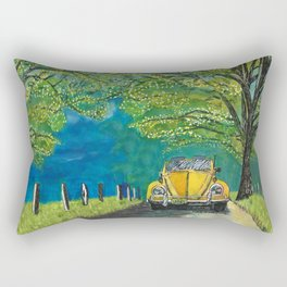 Tennessee Cabriolet Spring Drive Rectangular Pillow