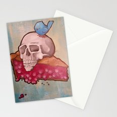 Death by Pie Stationery Cards