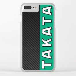 Takata Carbon Clear iPhone Case