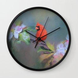 Cardinal Morning Wall Clock