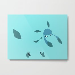 Glaceon Metal Print