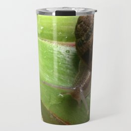 Snail on a Mission Travel Mug