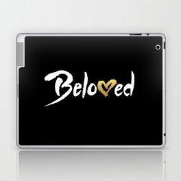 Beloved - White & Gold Laptop & iPad Skin