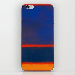 Rothko Inspired #7 iPhone Skin