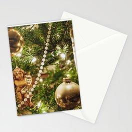 Golden Noel Stationery Cards