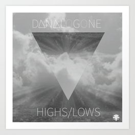 Highs//Lows Art Print