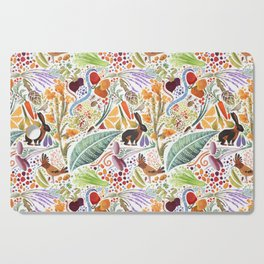 Vegetable Garden Party Cutting Board