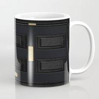 221b Mugs featuring 221b Baker Street by Andrian Kembara