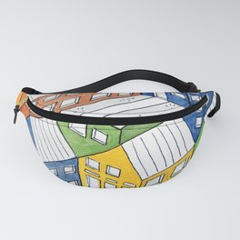 House on house Fanny Pack