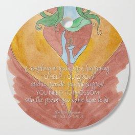 Mareia To Help You Blossom Cutting Board