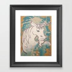 Goatees Not Just for Goats Framed Art Print