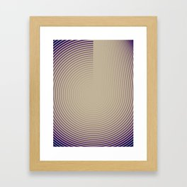 Pulsar Framed Art Print