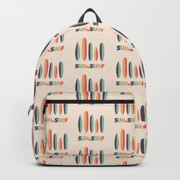 Sun & Surf Surfboards - Retro Rainbow Backpack