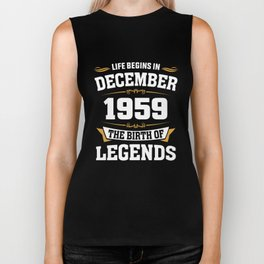 December 1959 59 the birth of Legends Biker Tank