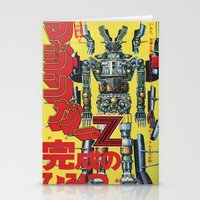 manga Stationery Cards featuring Manga 01 by Zuno